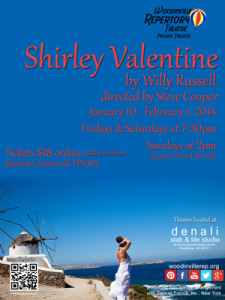 Shirley Valentine play poster