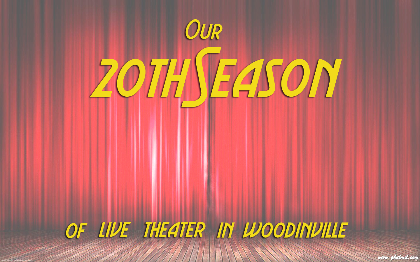 Upcoming shows in our season woodinville repertory theatre for Woodinville theater